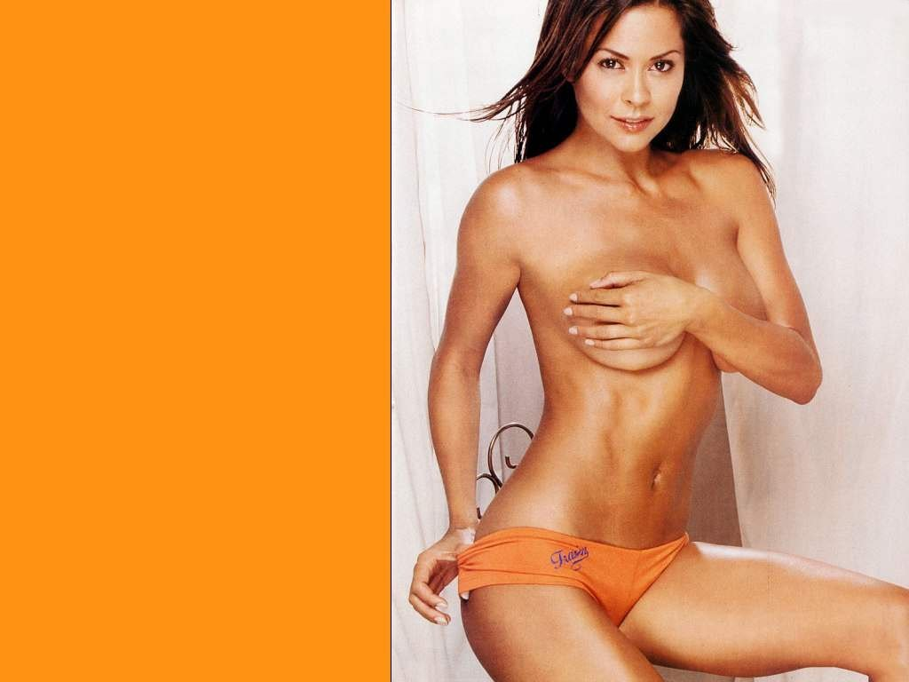 hot free sexy wallpaper photo of Brooke Burke from our gallery